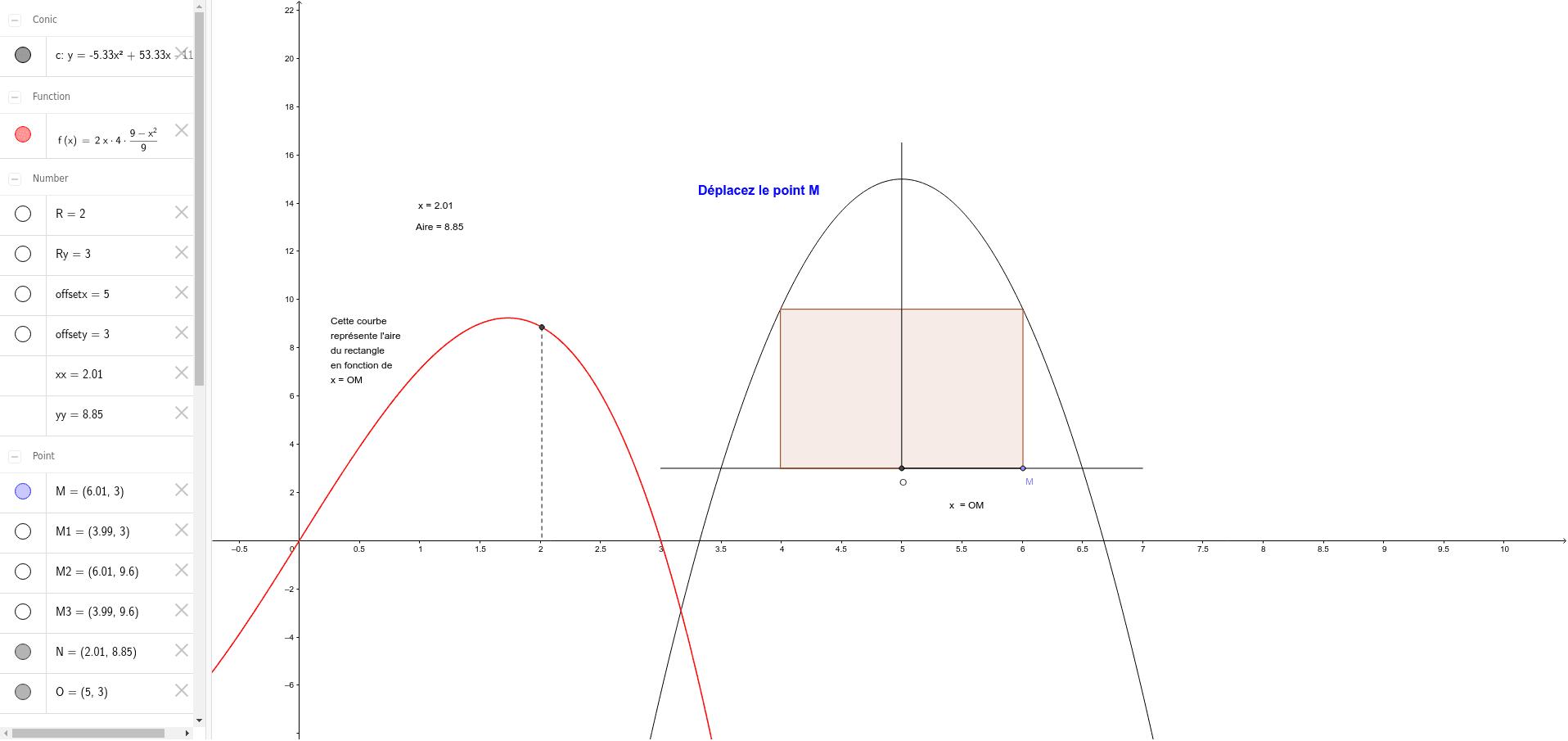 """http://www.ilemaths.net/sujet-fonctions-et-calculs-derivees-685163.html Tapez """"Entrée"""" pour démarrer l'activité"""