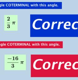 Quiz: Coterminal Angles
