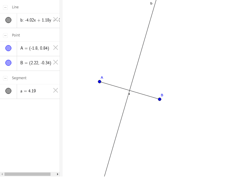 Perpendicular Bisector Press Enter to start activity