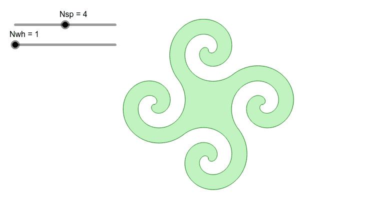 Archimedean spiral 按 Enter 鍵開始活動