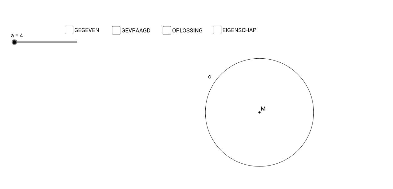 Koorde en apothema - eigenschap 4