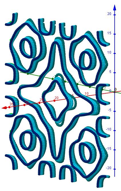 Chladni Figuren- 2 3 5, s=1, L=20   0-5