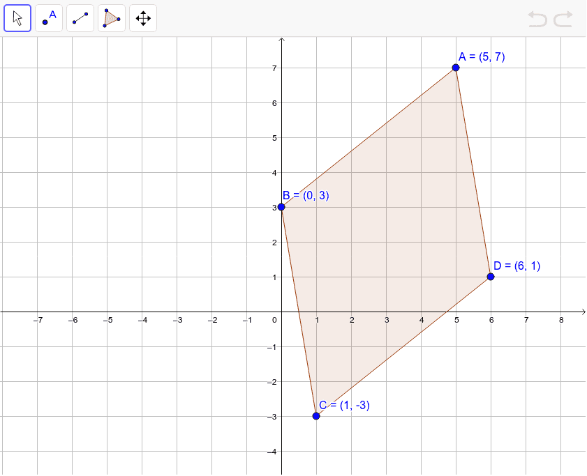 Show that ABCD is a parallelogram.