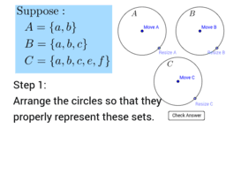 Creating Diagrams of Subsets