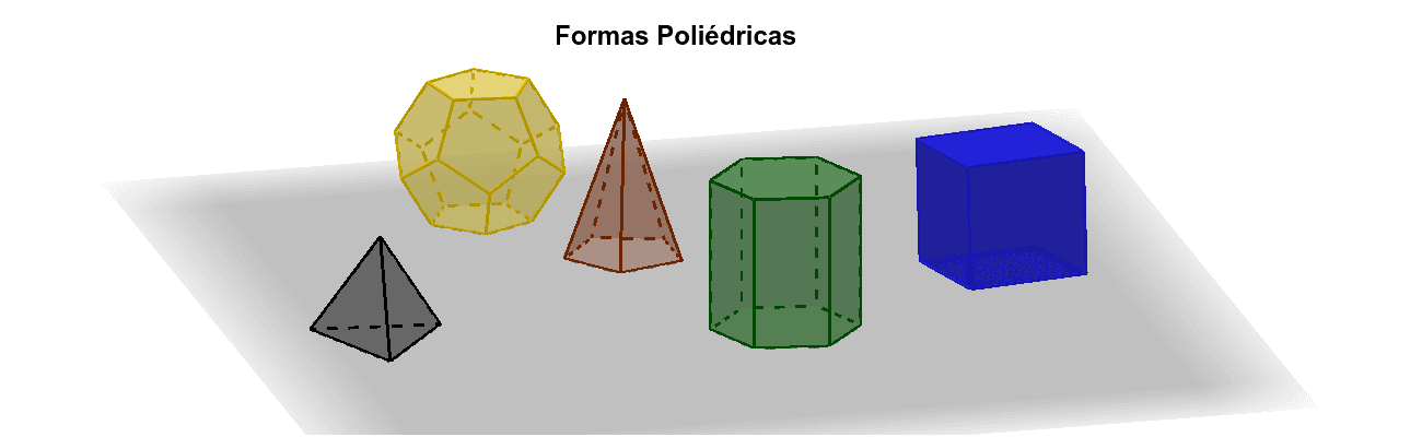 Formas Poliédricas Press Enter to start activity