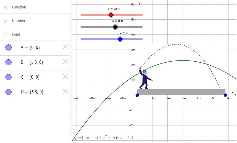 Lernerfolgskontrolle: Einstiegsaufgabe Ballwurf Nr.1 Drücke die Eingabetaste um die Aktivität zu starten
