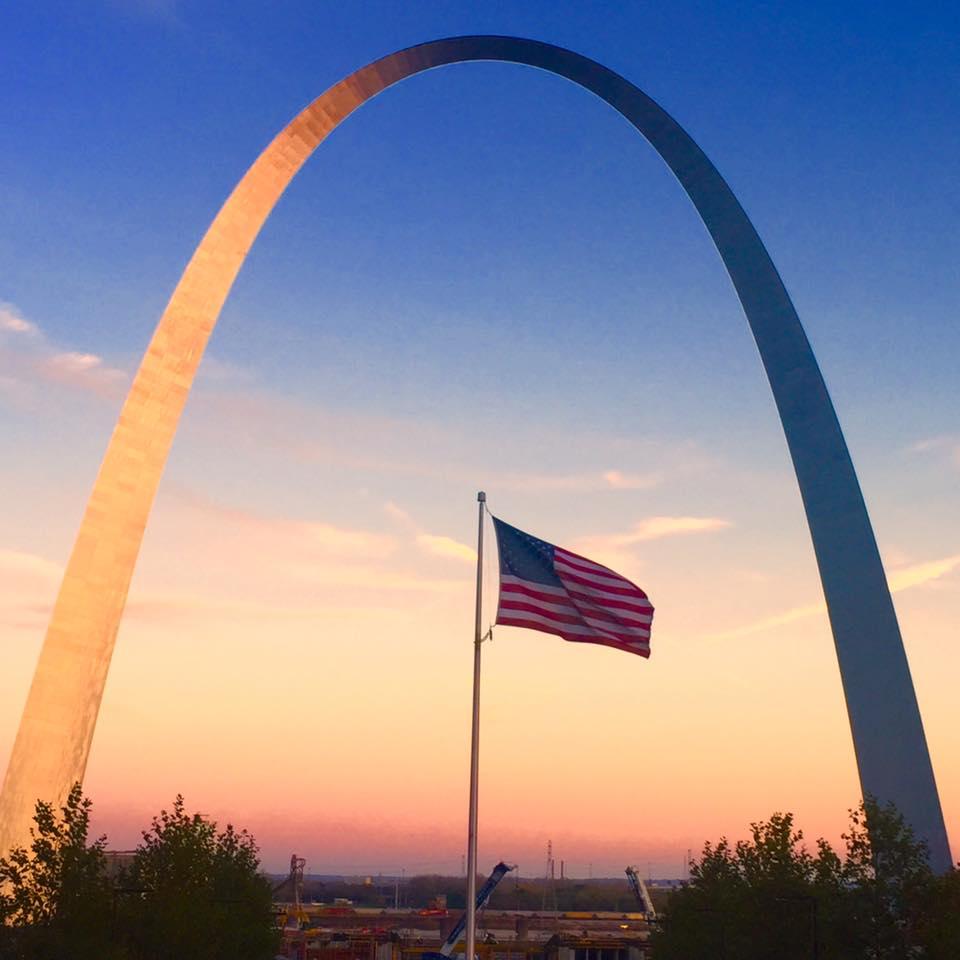 Gateway Arch: St. Louis, Missouri