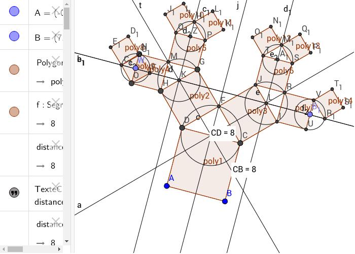 """exercice 3 arbre de pythagore Tapez """"Entrée"""" pour démarrer l'activité"""
