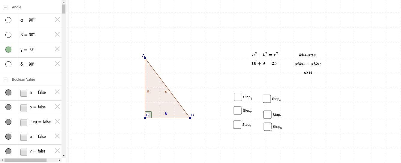HefinAdeviaFebri_14321791_umpo (Pembuktian Teorema Pythagoras) Press Enter to start activity