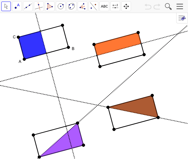 Rectangle Reflectional Symmetry Press Enter to start activity