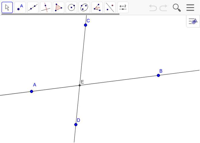 Creating Parallel Lines on Geogebra Press Enter to start activity