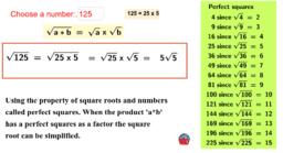 Integer Factors of Square Roots