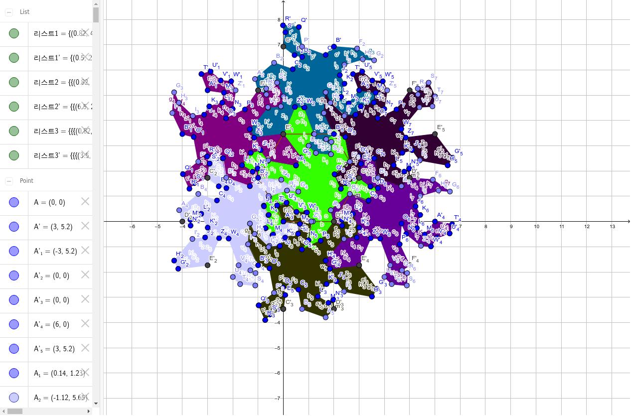GeoGebra Applet 활동을 시작하려면 엔터키를 누르세요.