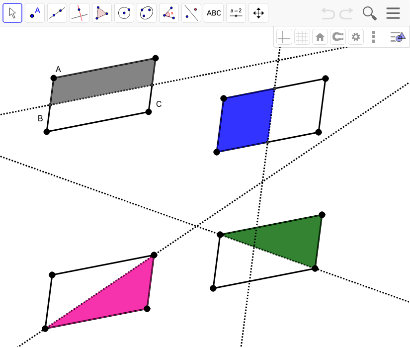 Parallelogram Reflectional Symmetry Press Enter to start activity