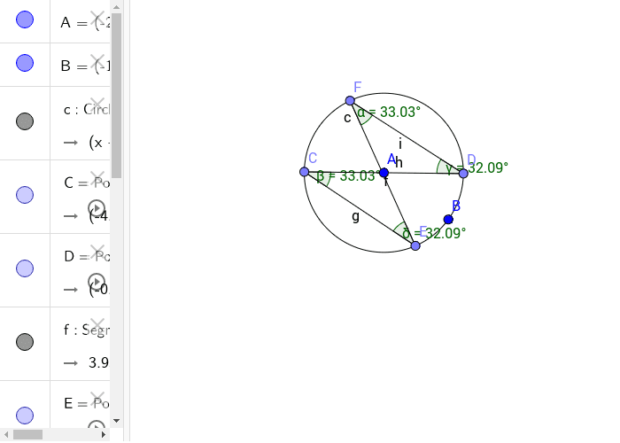 Angles Subtended by Same Arc Press Enter to start activity
