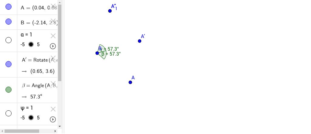 GeoGebra Applet Premi Invio per avviare l'attività