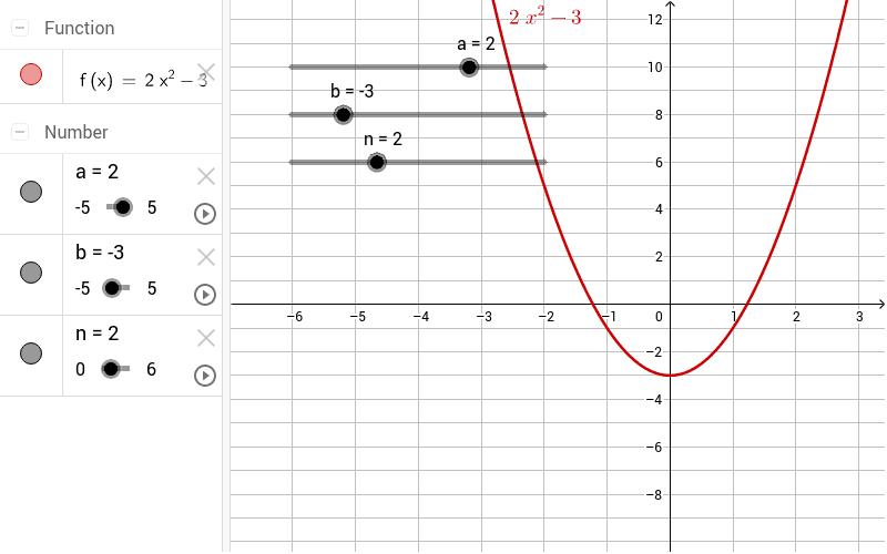 Veränderung von b untersuchen Drücke die Eingabetaste um die Aktivität zu starten