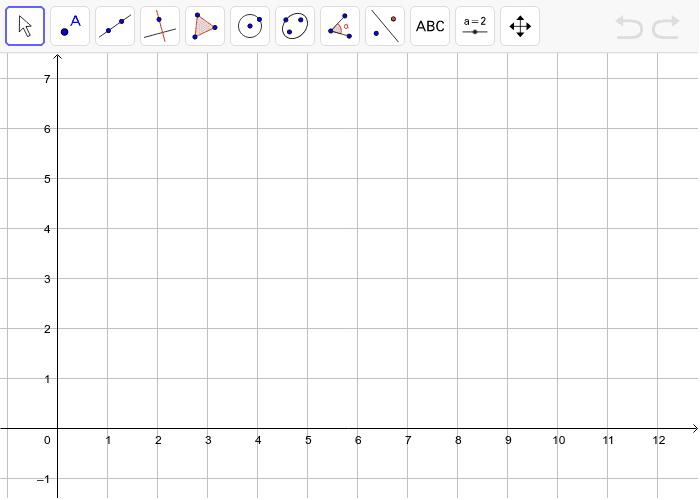 Plot A( 1, 0); B( 0, 4); C( 6, 7); D( 7, 3) Press Enter to start activity