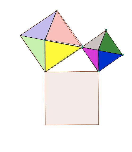 畢氏定理拼圖 按 Enter 鍵開始活動