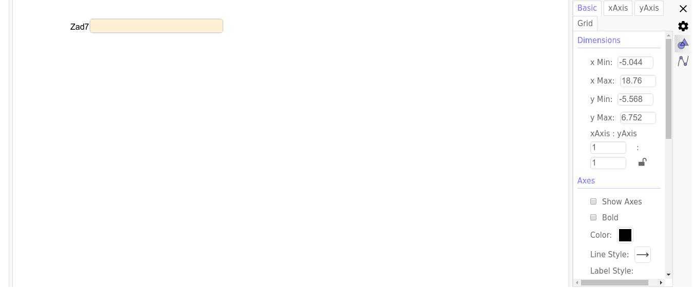GeoGebra Applet Naciśnij klawisz Enter, aby rozpocząć aktywność