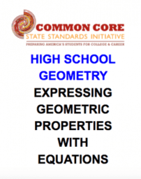 Geometry (Expressing GEO. Prop's w/Equns.)