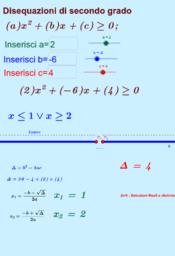 disequazioni di secondo grado