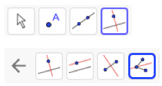 First, draw a triangle.  Find the incenter by constructing the angle bisectors.