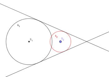 Zajedničke vanjske tangente kružnica