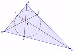 Construcció del punt X(7). Punt de Gergonne