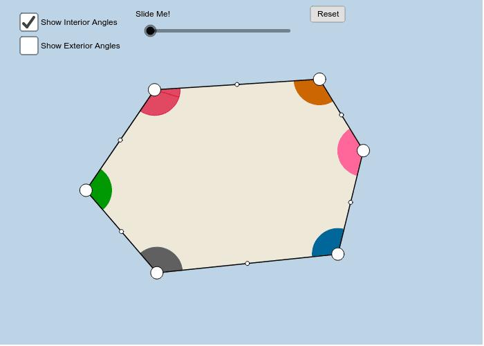 Hexagon Press Enter to start activity
