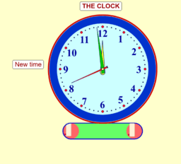 Clock Face Fraction