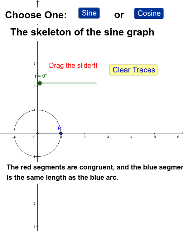 What are sine and cosine, really? Press Enter to start activity