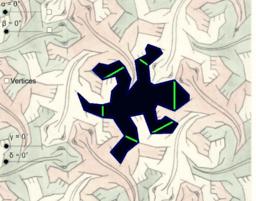 Copie de Escher's Lizard Tessellation