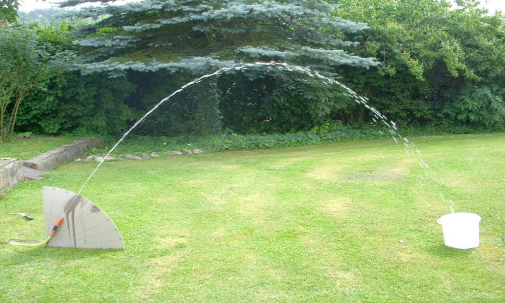 Die Wasserfontäne