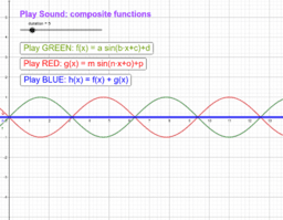Play Sound: composite functions