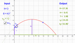 Projectile Problem - Quadratic Function Applications