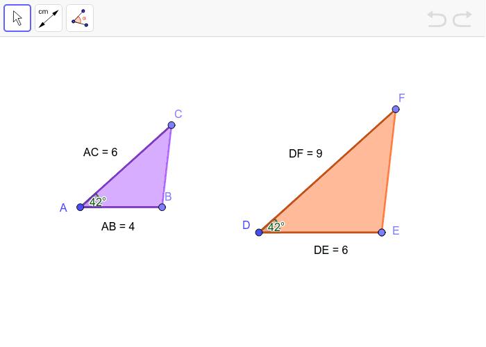 5.3 - (??? Triangle Similarity Theorem) Press Enter to start activity