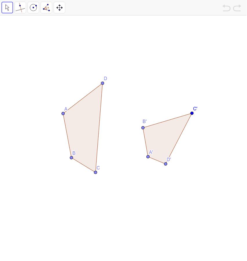 Decida se os quadriláteros a seguir são ou não inscritíveis numa circunferência. Press Enter to start activity