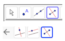 Find the circumcenter by constructing the perpendicular bisectors.