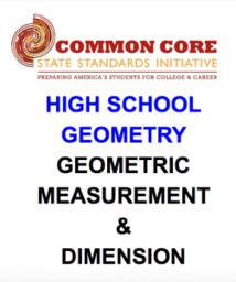 Geometry (Geometric M. & Dimension)
