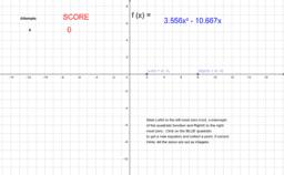 Locating Zeros of A Quadratic Function Practice