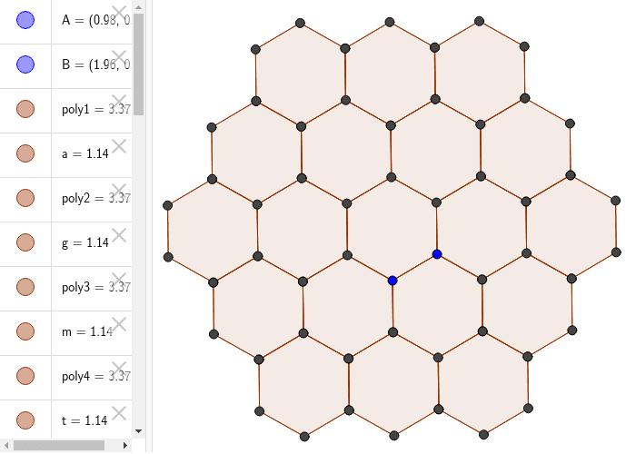 Nontrivial Normal Magic Hexagon Press Enter to start activity