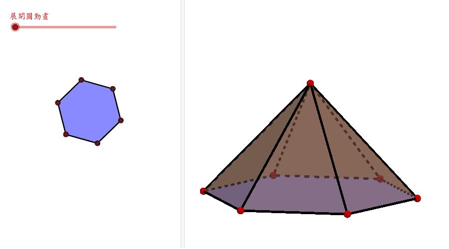 六角錐體 按 Enter 鍵開始活動