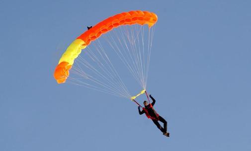 Einstiegsaufgabe: Fallschirmspringen