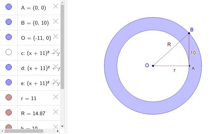 Egy másik grafikus megoldás. Ezen csak az  O  pontot kell mozgatni. Press Enter to start activity