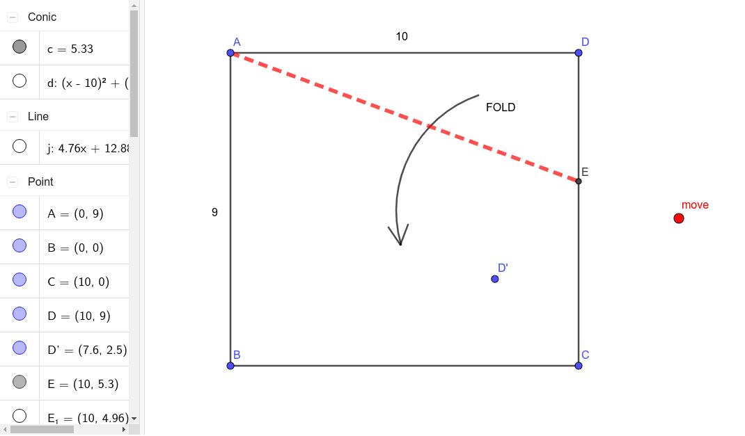 IM2 Folding Paper Problem Press Enter to start activity