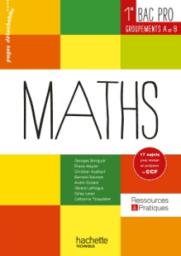 Maths 1re et Term Bac Pro Hachette