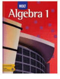 Algebra 1 WVHS