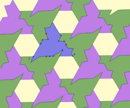 Triangle Tessellation with Hexagonal Gap'in kopyası