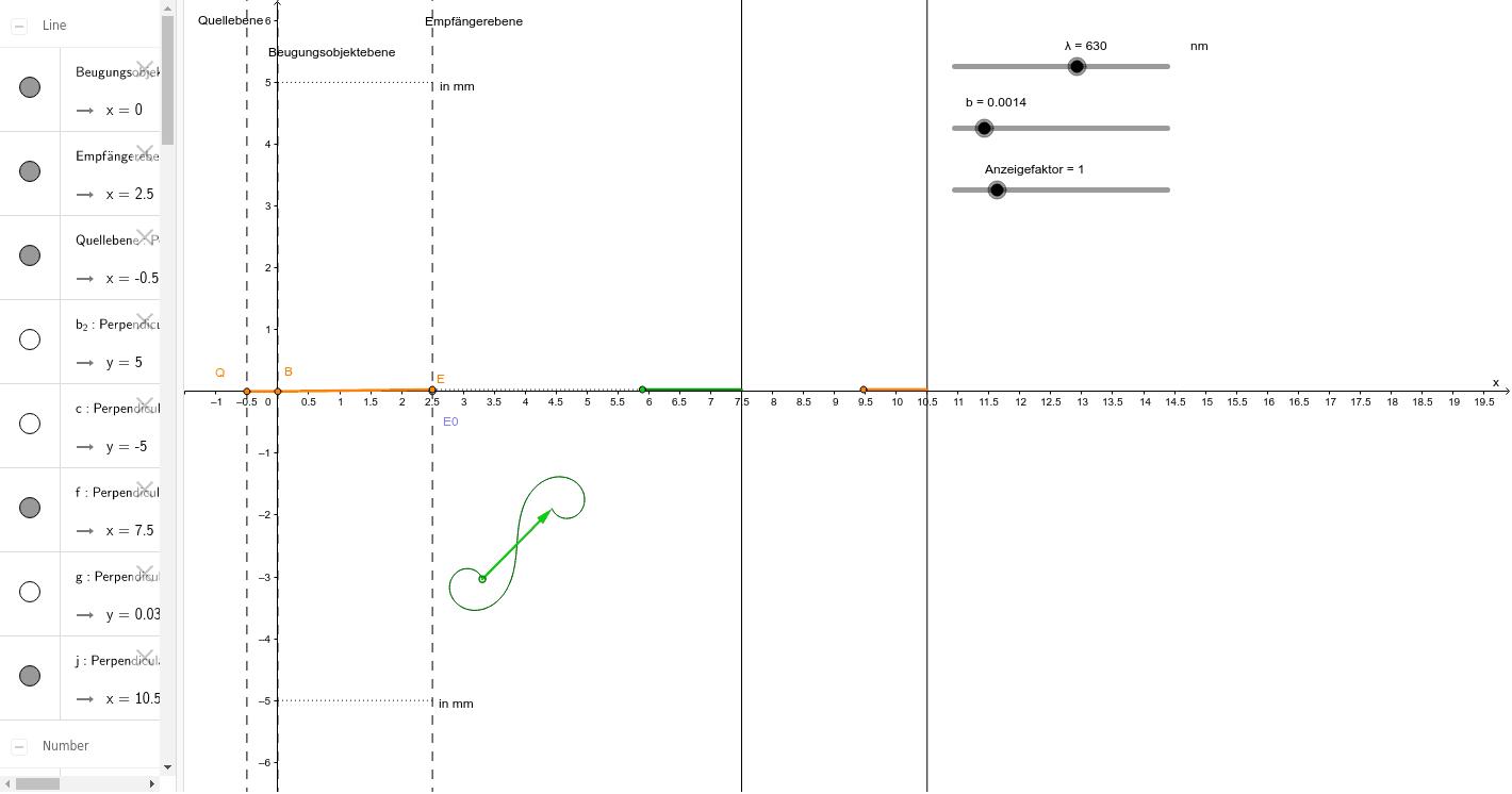 4-4-3 Zeiger Einzelspalt Drücke die Eingabetaste um die Aktivität zu starten